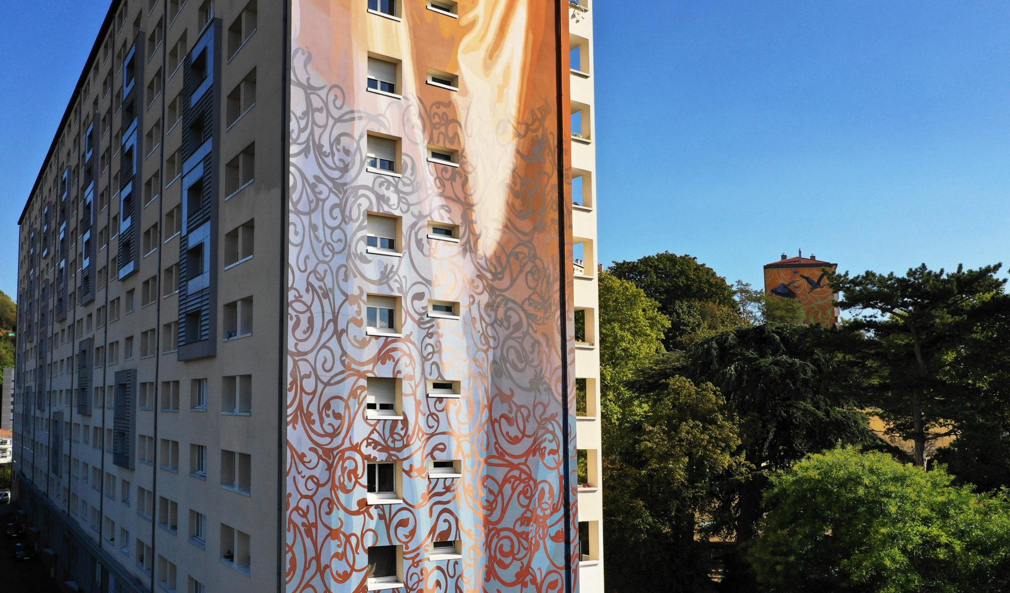 Peindre Une Fresque Sur Un Mur citécréation - design mural monumental et fresque murale