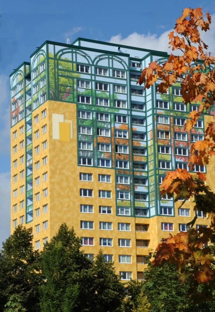 Organisme pour l'habitat - Flower Tower Berlin Marzhan