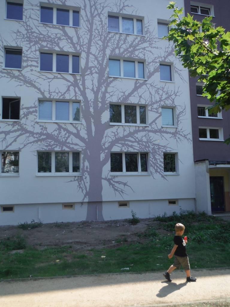 Fresque murale Silhouettes à Berlin en Allemagne