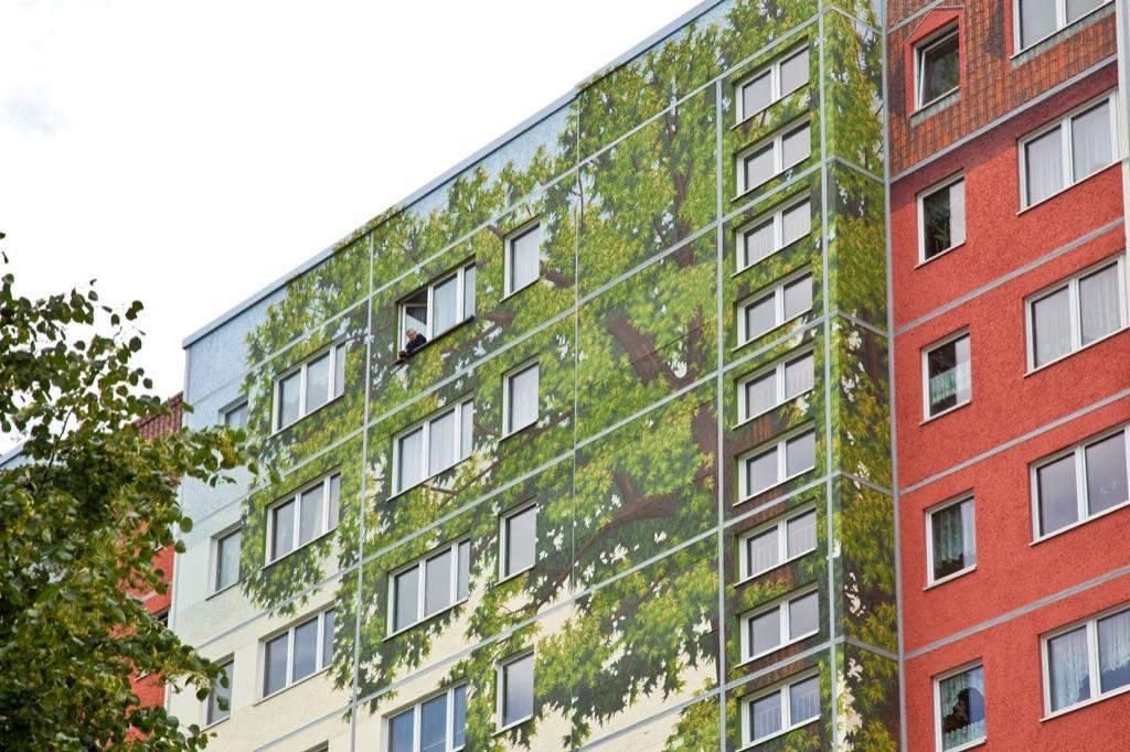 Fresque murale Solidarität à Berlin en Allemagne