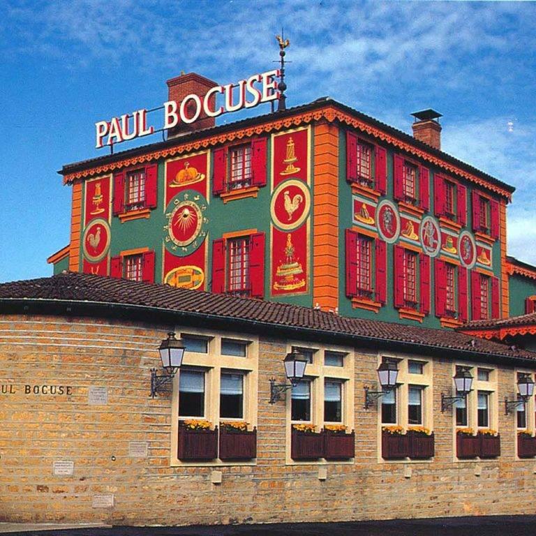 Fresque murale pour le restaurant Paul Bocuse