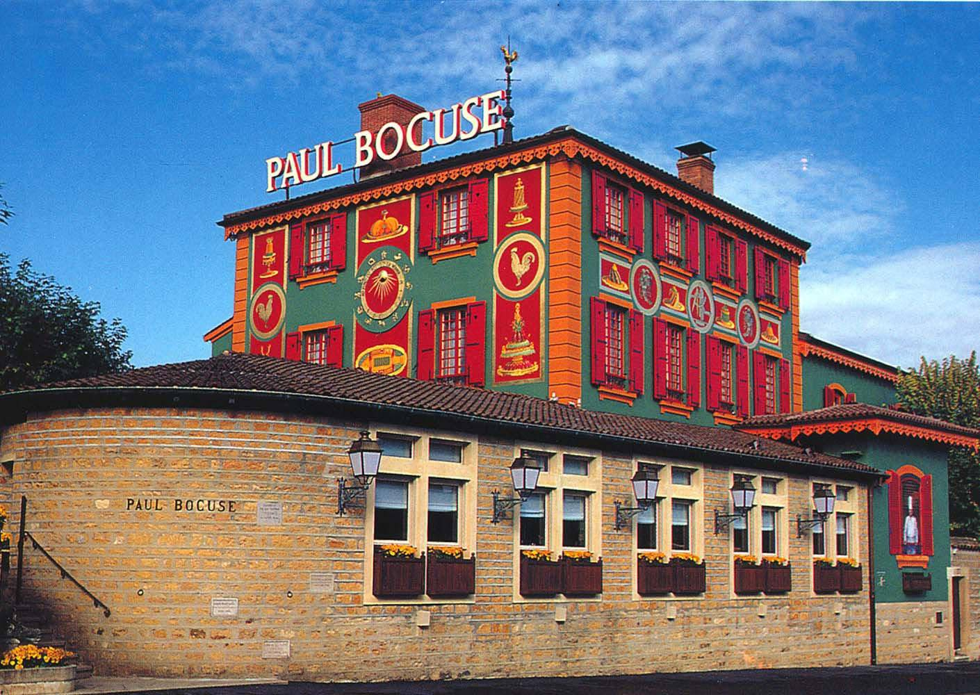 Fresque murale pour le restaurant Paul Bocuse
