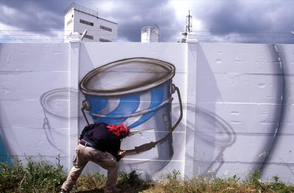 Fresque Murale de la Chimie pour l