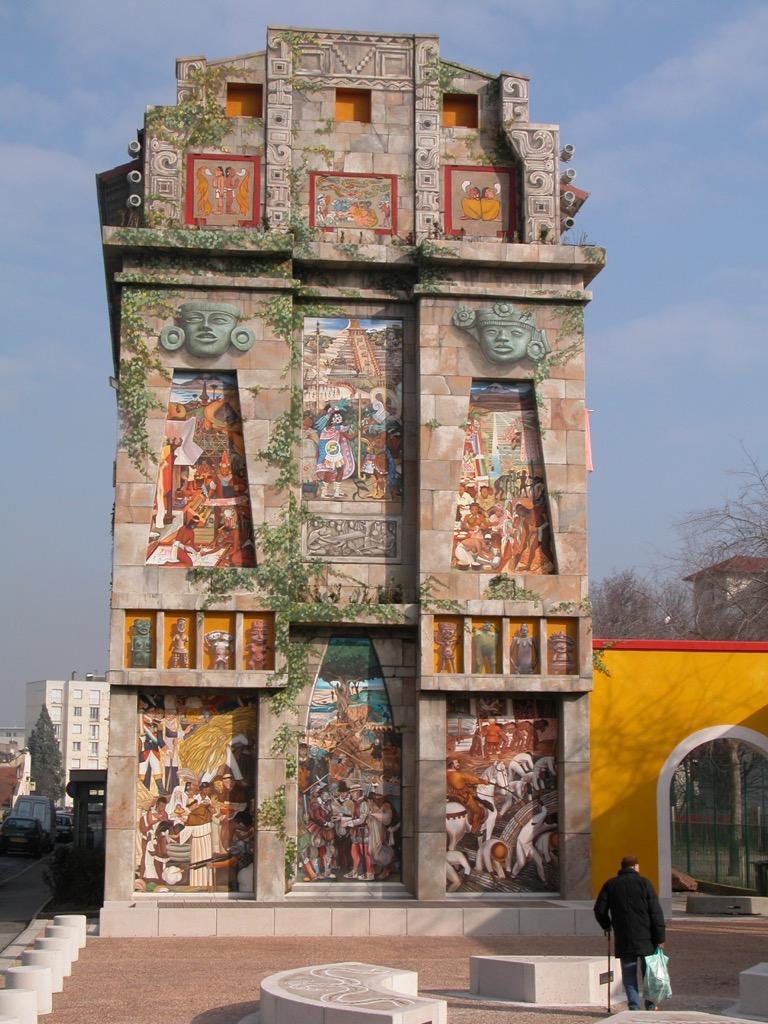 Espace Diego Rivera - Créé en 2007 - 19 rue Georges Gouy - Lyon 7è