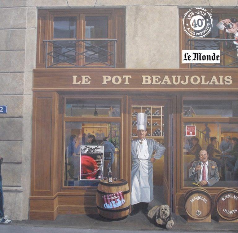 La Fresque des Lyonnais - rue de la Martinière - Lyon 1er