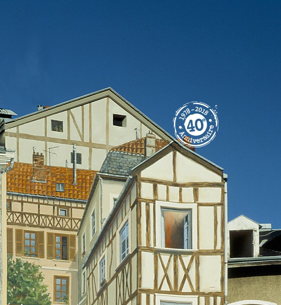 La Fresque de Limoges - Place de la Motte/Angle rue du Cocher - 87000 Limoges - France