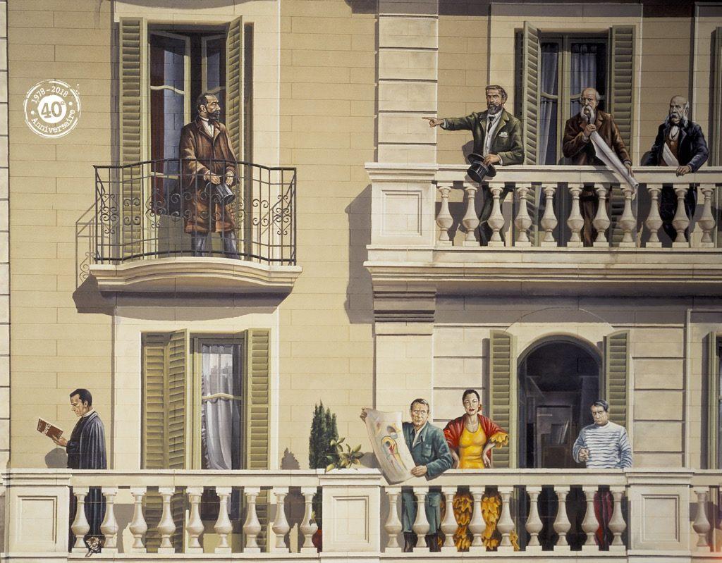 Balcons de Barcelone - Espagne