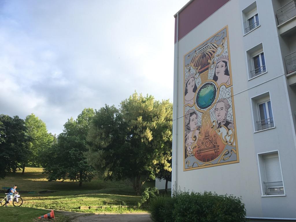 Maîtrise d'ouvrage : Domanys Lieu : Quartier des Lices – Tonnerre / France