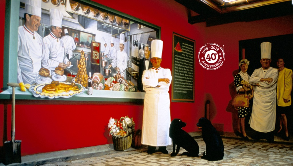 Restaurant de Paul Bocuse, Collonges-au-Mont-d'Or (France)
