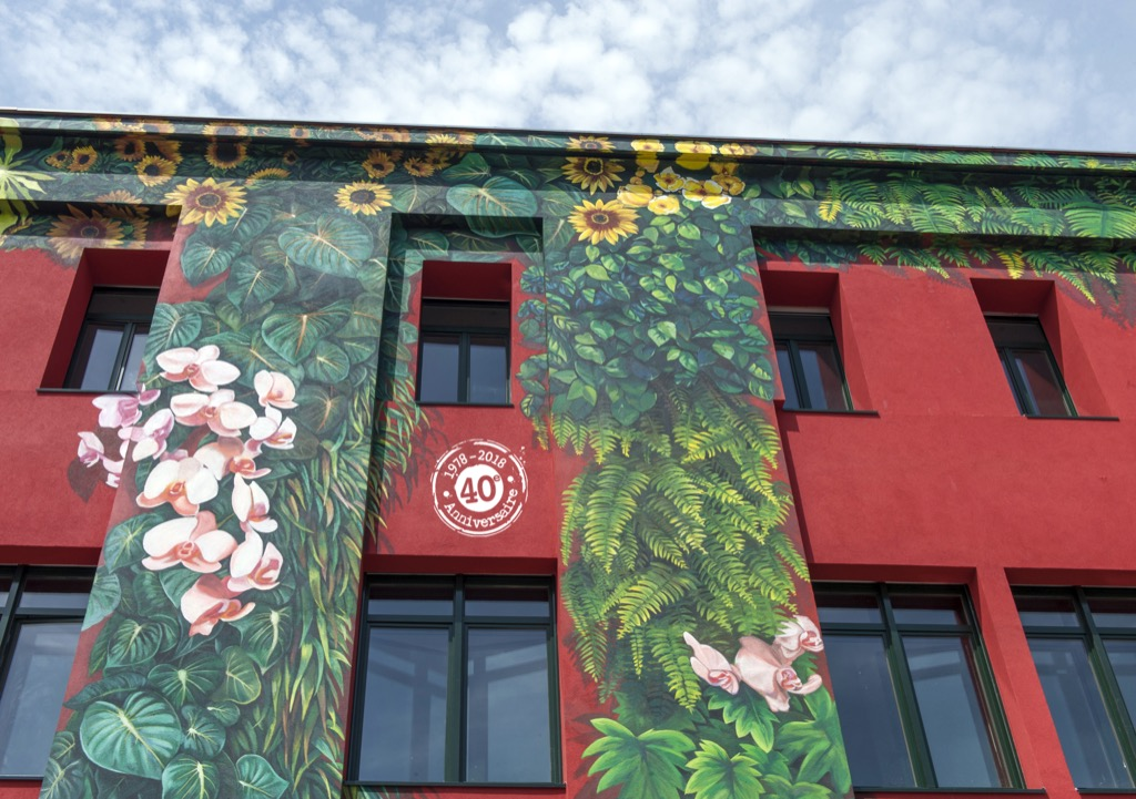 La fresque murale