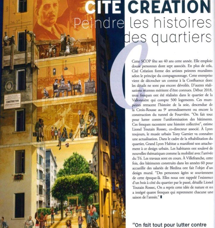 CitéCréation : peindre les histoires des quartiers