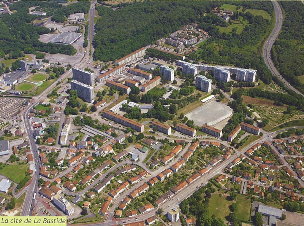 Limoges - quartier de la Bastide