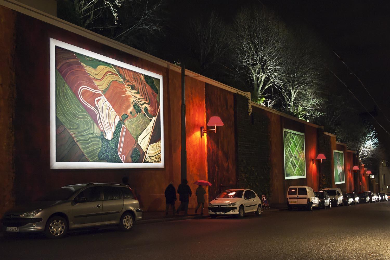 Fresque Lyon France