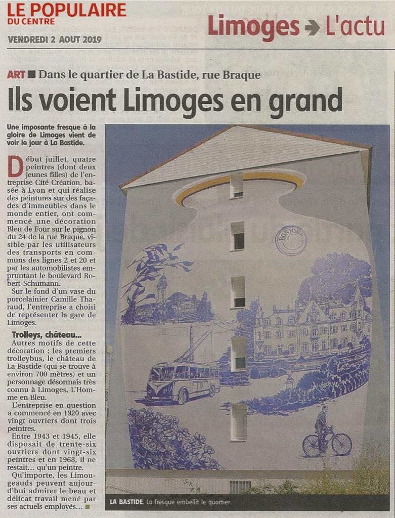 Ils voient Limoges en grand