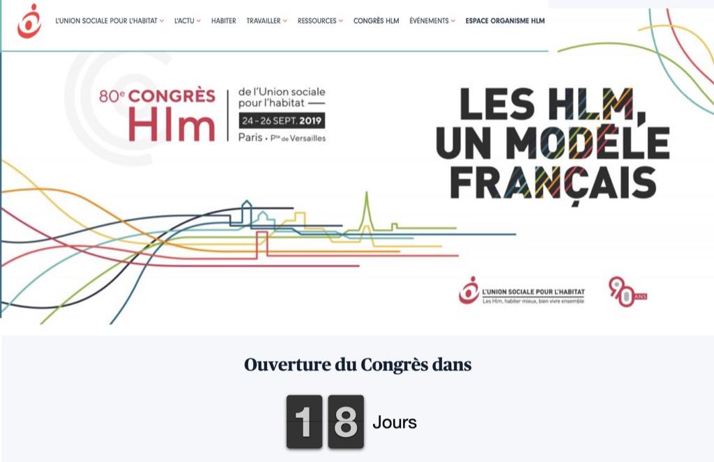 80è Congrès HLM 2019 Paris