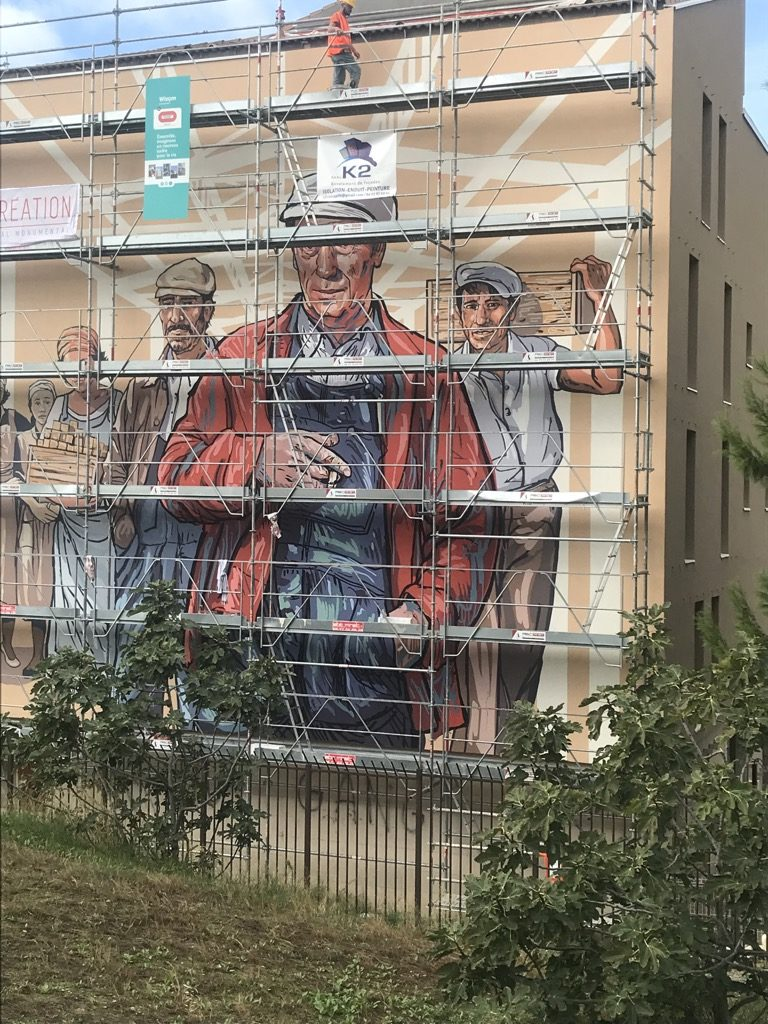 Marseille la Cabucelle - Yves Montand