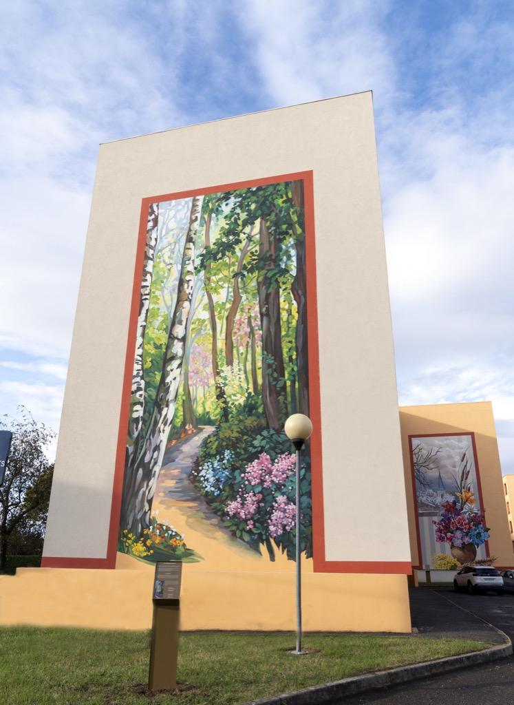 Les fresques de la Chartonnière - Gleizé - France