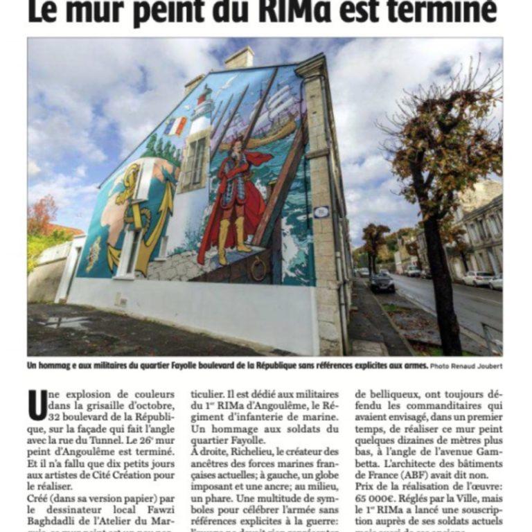 Le mur peint du RIMa est terminé