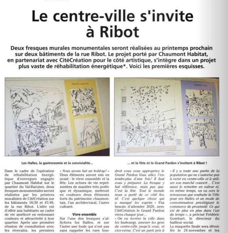 Le centre-ville s'invite à Ribot