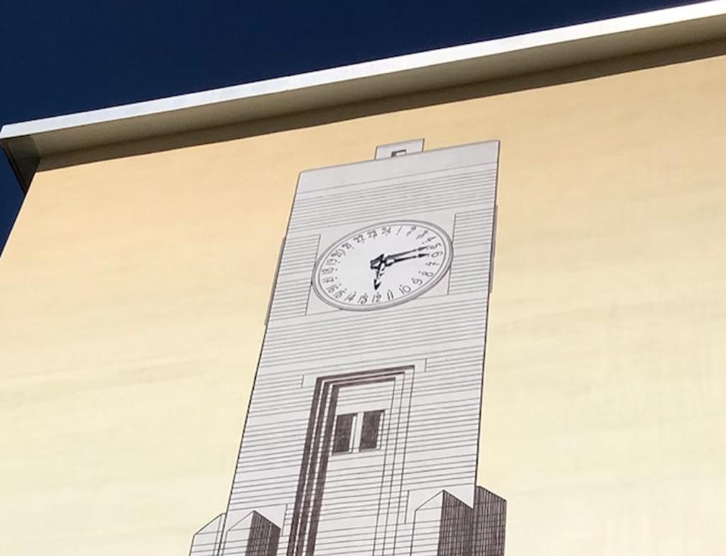 Musée Urbain Tony Garnier - La tour d'horloges